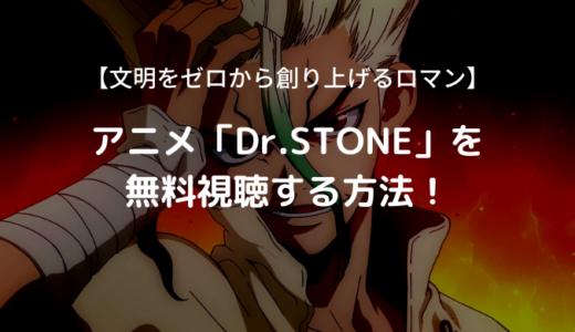 アニメ「Dr.STONE」全話を無料視聴!【あらすじ・見どころ】